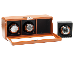 Rotor Case Watch Winder 3 automatic watches