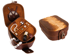 Travel Jewellery Cases with lock for Woman